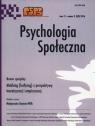 Psychologia społeczna 3/2016