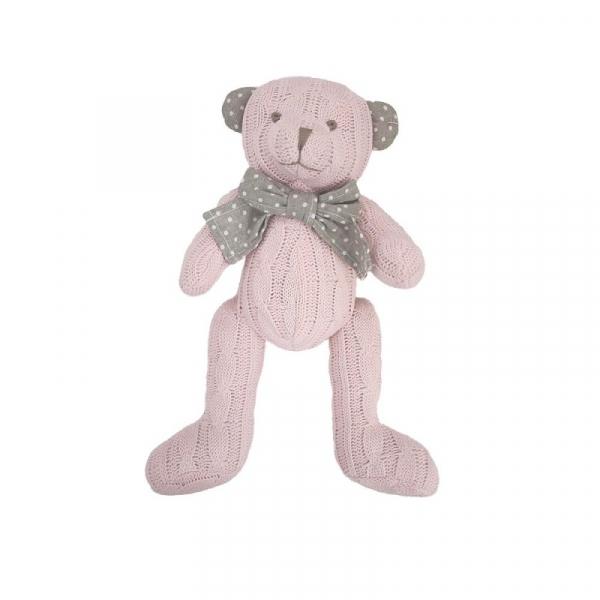 Pluszak Miś Cedric różowy 20 cm (13300)