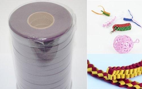 Wstążki filcowe 0,5cm. x 6m kolor ciemny fiolet 13 sztuk