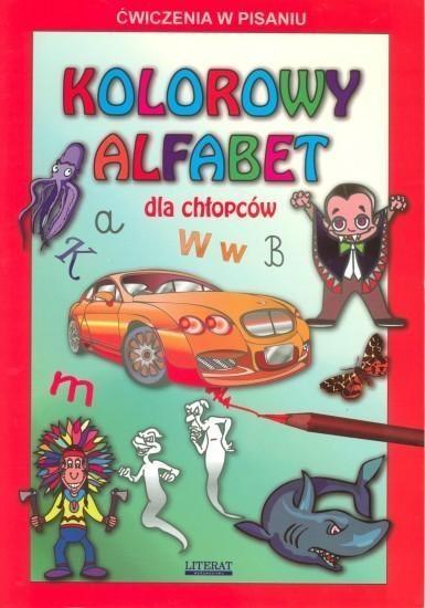 Kolorowy alfabet dla chłopców Guzowska Beata