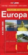Europa Mapa drogowa 1:4 000 000