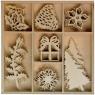 Dekoracje drewniane Xmass (414455)