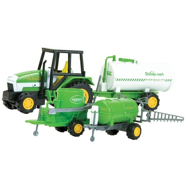 DROMADER Zest. Farma Traktor z maszyną (00483T)