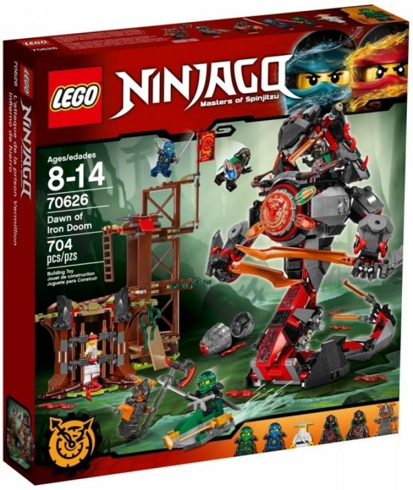 Ninjago Świt Żelaznego Fatum (70626)