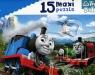 Puzzle 15 Maxi Tomek i przyjaciele Pędzące lokomotywy (14283) (Uszkodzone opakowanie)