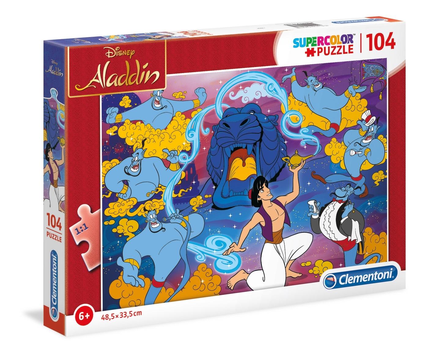 Puzzle SuperColor 104: Aladdin (27283)