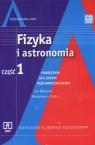 Fizyka i astronomia Część 1 Podręcznik z płytą CD