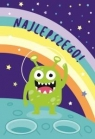 Karnet B6 Urodziny - Kosmita