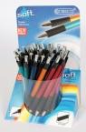 Długopis z wymiennym wkładem Cresco SOFT (mix) (600000) 1SZT