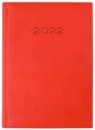 Kalendarz 2022 Dzienny A5 Vivella Czerwony 21D-09