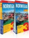 Norwegia 3w1: przewodnik + atlas + mapa