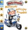 Mały chłopiec. Motocykl policyjny Franka w.2020