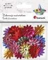 Dekoracje materiałowe, 30 sztuk - kwiatki (284826)