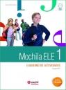 Mochila 1 ćwiczenia + CD audio + portfolio Montemayor Susana