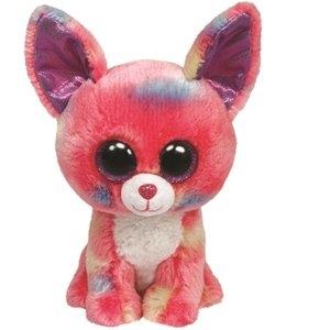 Pluszak Beanie Boos CANCUN - Różowy Piesek Chihuahua 15cm (TY 36084)