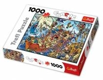 Piraci - Chaotic Puzzle - 1000 elementów (10284)