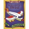 Kolorowy świat Samoloty Naklejki