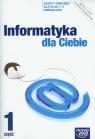 Informatyka dla Ciebie 1-3 Zeszyt ćwiczeń Część 1 gimnazjum Dyrek Andrzej, Kowalski Piotr,