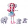 Enchantimals: Rodzina - Esmeralda Elephant + słonie (GJX43/GTM30)