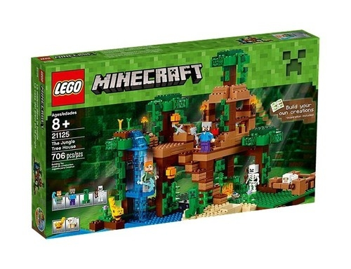Lego Minecraft Domek na drzewie w dżungli (21125)