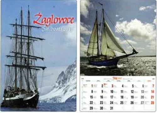 Kalendarz 2017 A3-9 Żaglowce