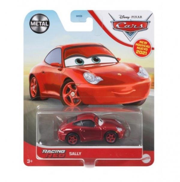 Pojazd Auta Racing Red Sally (DXV29/GRR92)