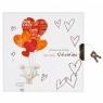 Pamiętnik na kłódkę Valentine (STARPAK 423467)