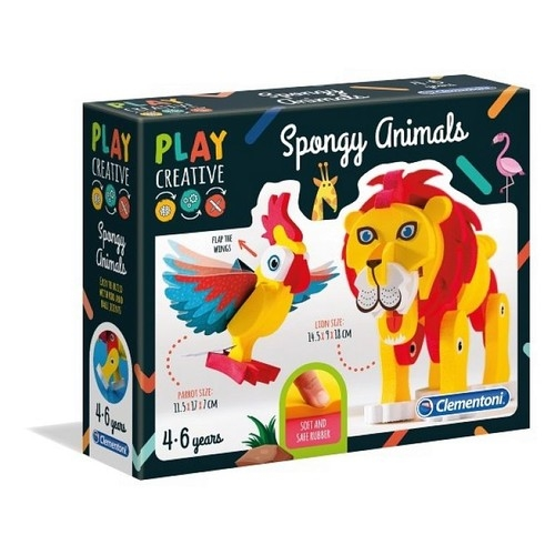 Play Creative Miękkie zwierzątka (15284)