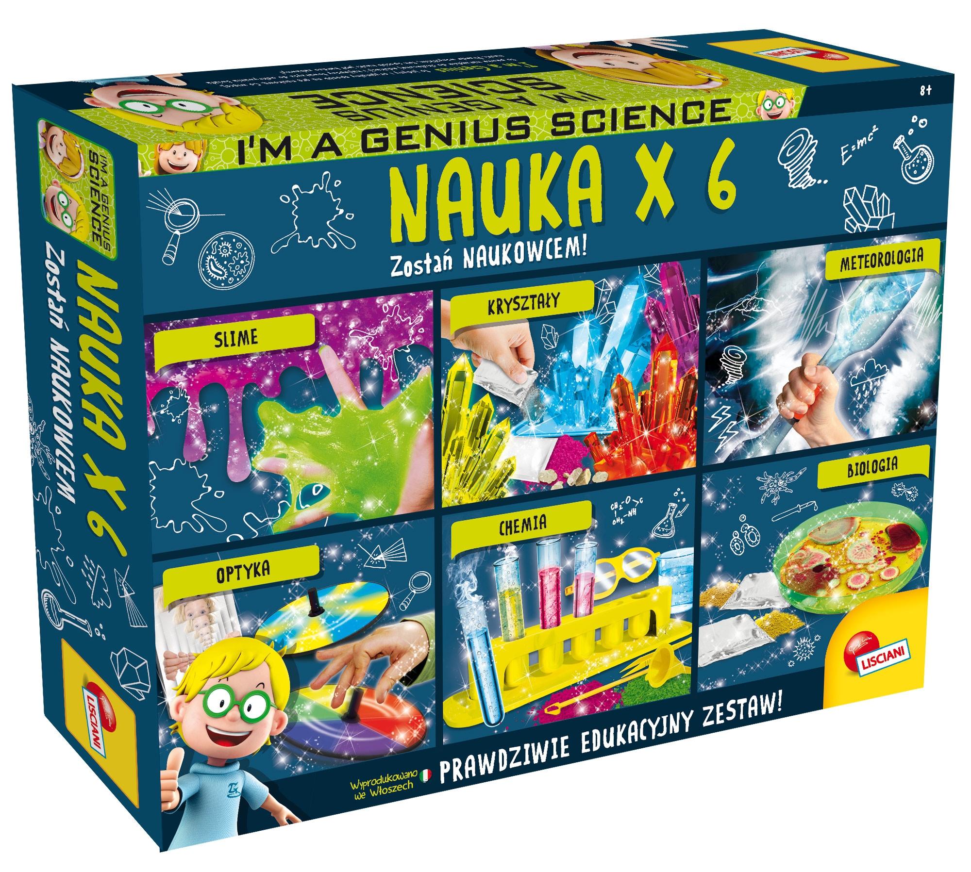 I'm a Genius: Nauka x6