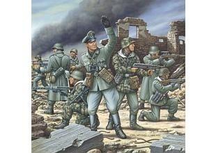 German Mechanized Infantrymen