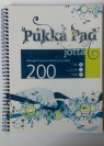 Kołozeszyt PUKKA PAD A4 - niebieski 200 stron/ kratka