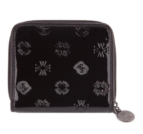 Średni portfel damski z kolekcji Signature czarny