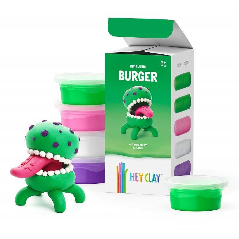 Hey Clay: masa plastyczna - obcy Burger (HCLMA002PCS)