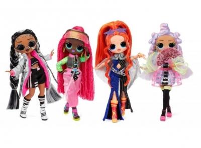 LOL Surprise OMG Dance Doll Asst (4szt)