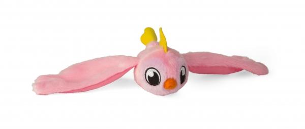 Bunnies Friends: Pluszowy ptaszek z magnesem 2-Pak - różowy i żółty (BUN 097223/097841)
