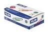 Spinacze winylowane MILAN 33mm pudełko 80 sztuk