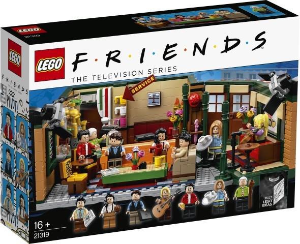 Klocki Ideas FRIENDS Central Perk (21319)