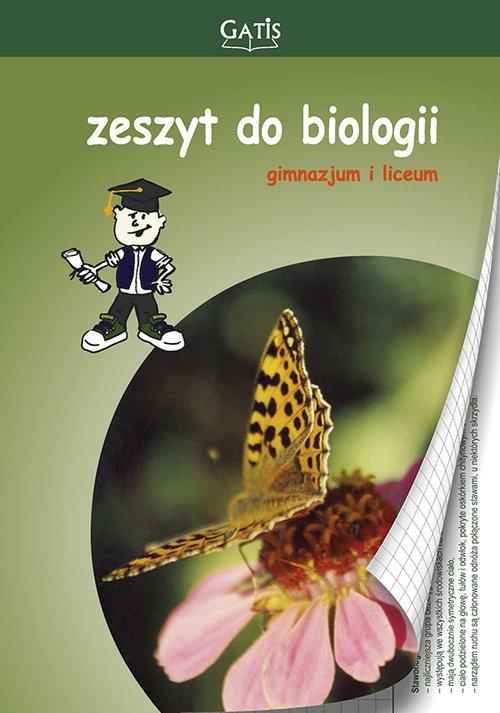 Zeszyt A5 Biologia gładki 60 kartek 10 sztuk