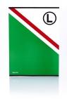 Blok rysunkowy A4 20 arkuszy Legia 10 sztuk