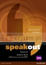 Speakout Advanced SB +etext AccessCard with DVD Antonia Clare