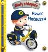 Mały chłopiec. Rower Mateusza