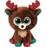 Beanie Boos Fudge - świąteczny renifer 15 cm (36684)