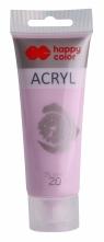 Farba akrylowa METALIK - jasno różowy 75 ml (0075-20)