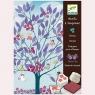 Zestaw artystyczny z pieczątkami Drzewo (DJ08784)