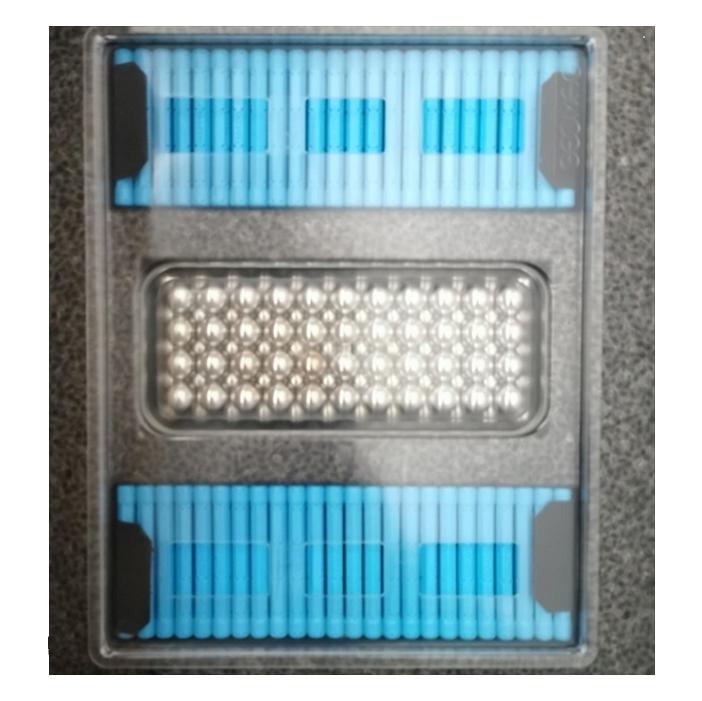 Geomag MasterBox - 248 elementów, jasnoniebieski (GEO-186)