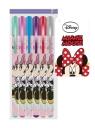 Długopisy żelowe 6 kolorów Minnie