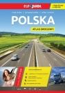 Polska Atlas drogowy z mapą Europy 1:500 000