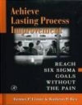 Achieve Lasting Process Improvement Kathryn P. Rea, Bennet P. Lientz,  Patters