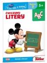 Disney Ucz się z nami Klub Przyjaciół Myszki Miki Ćwiczymy litery