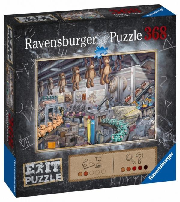 Puzzle Exit 368: W fabryce zabawek (164844)